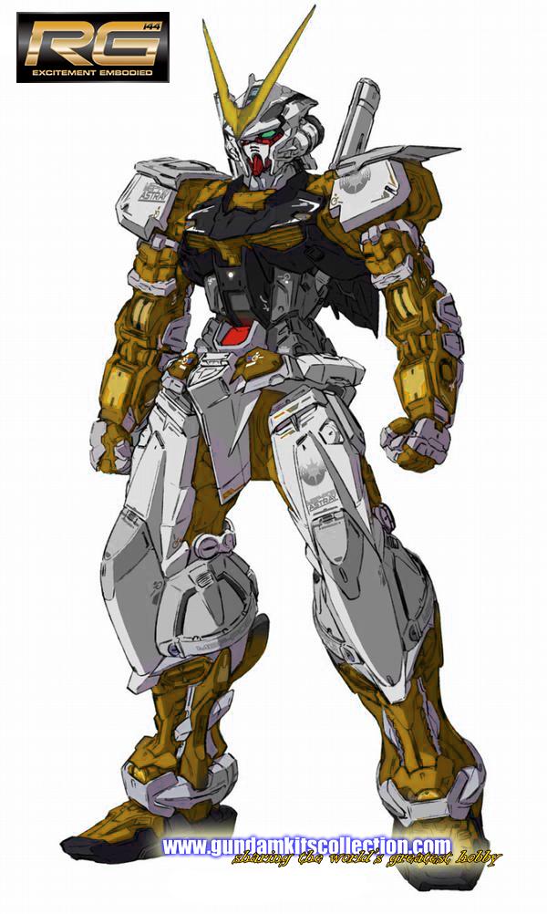 P-Bandai: RG 1/144 Gundam Astray Gold Frame [REISSUE] - Release Info ...