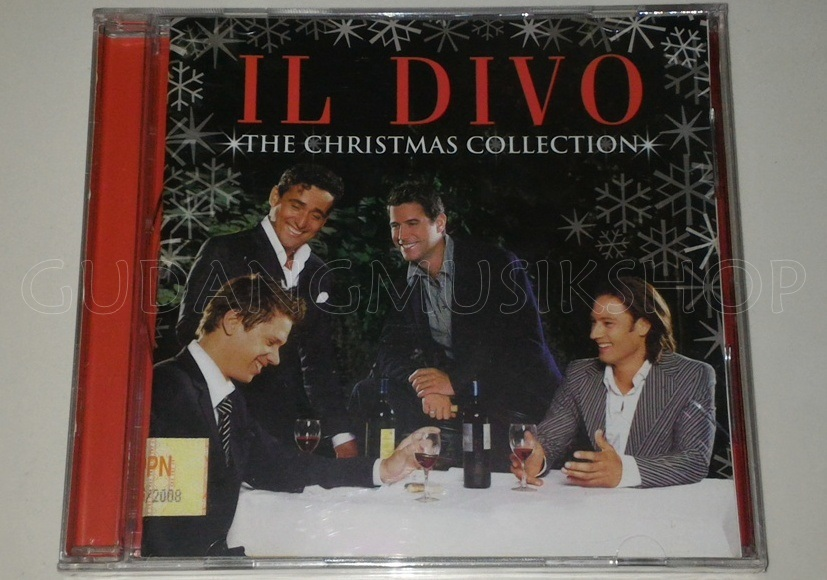 Cd il divo the christmas collection gudang musik shop - Album il divo ...