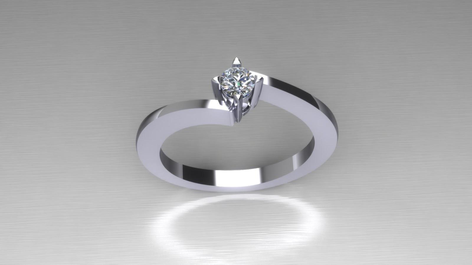 1) Μονόπετρα με διαμάντια  Το all time classic! Μονόπετρο δαχτυλίδι με  διαμάντι 18af7f14552
