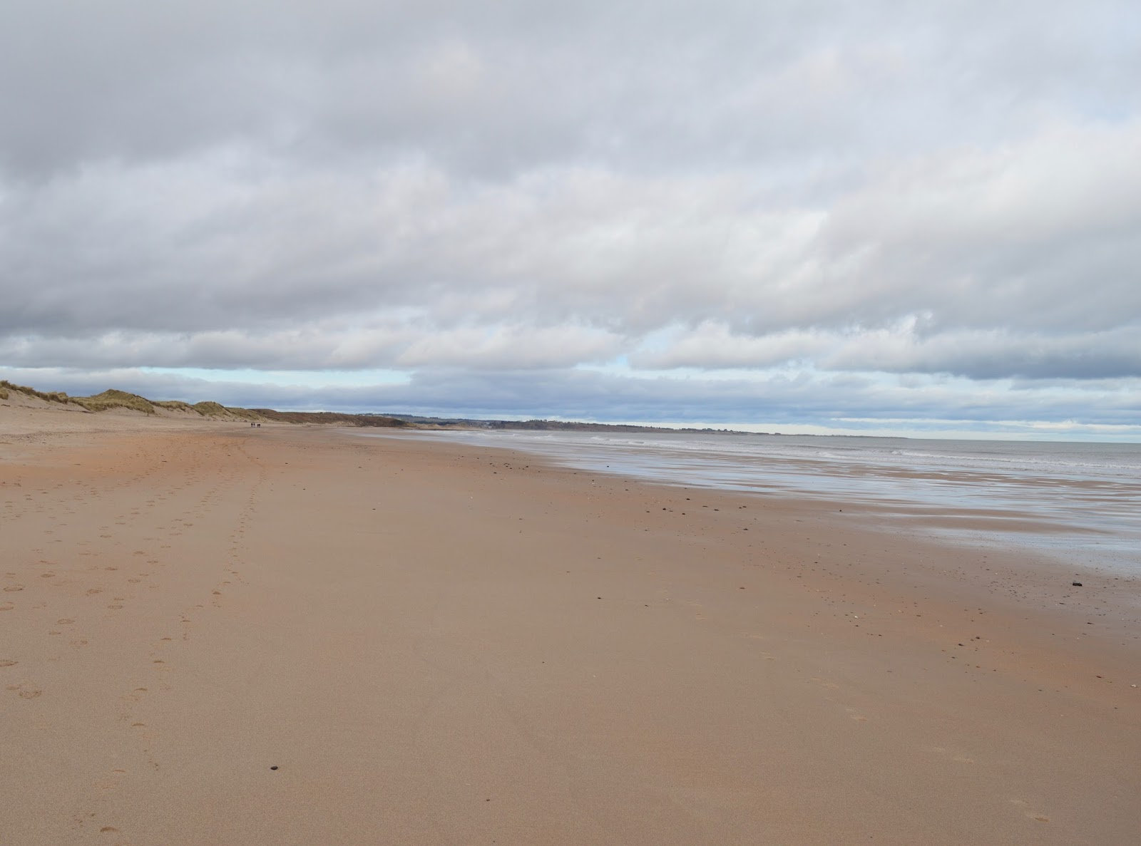Warkworth beach, Northumberland