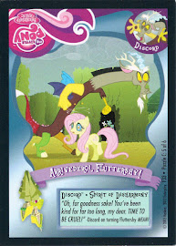 My Little Pony Arrivederci, Fluttershy Series 1 Trading Card