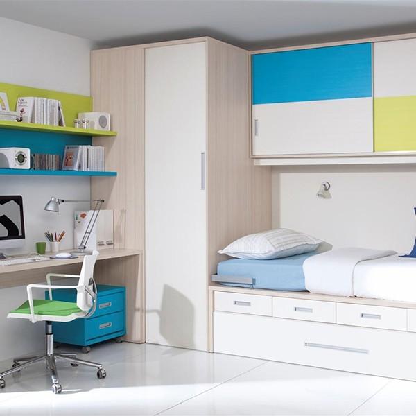 Blog dormitorios juveniles com armarios de rinc n para - Armarios esquineros juveniles ...