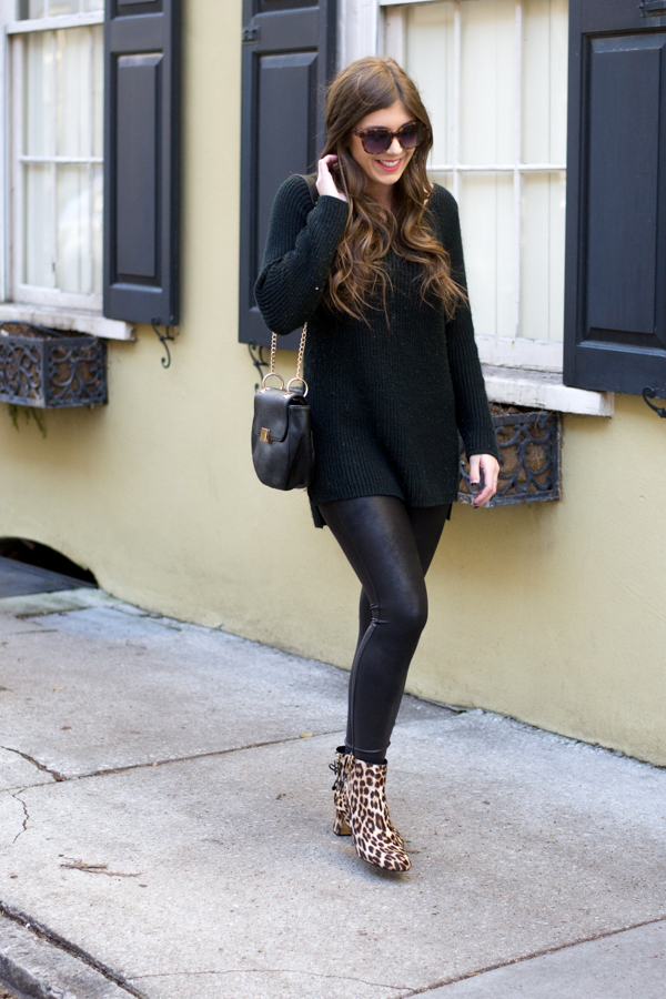 An Easy Way To Style Leopard Booties | Chasing Cinderella
