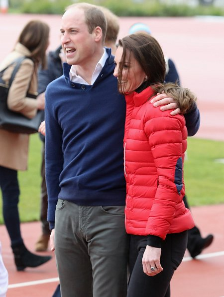 Prince William Duchess Catherine And Harry Visited London