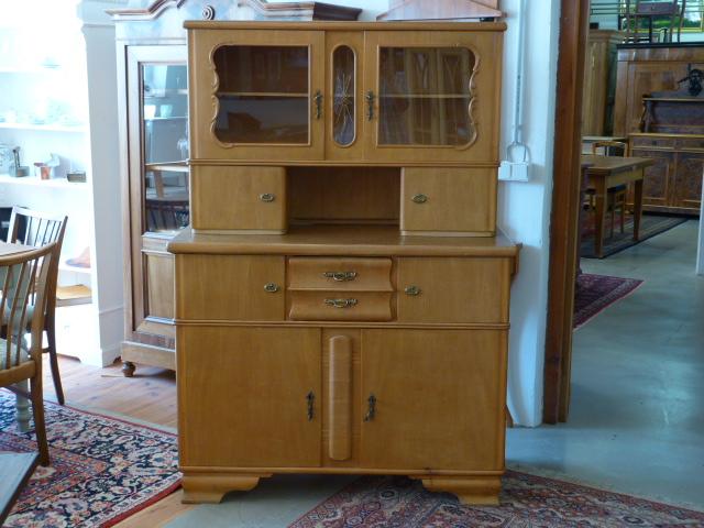 Antike Möbel: 50er Jahre Küchenschrank