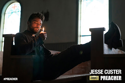Preacher Teaser One Sheet Television Poster - Dominic Cooper as Jesse Custer
