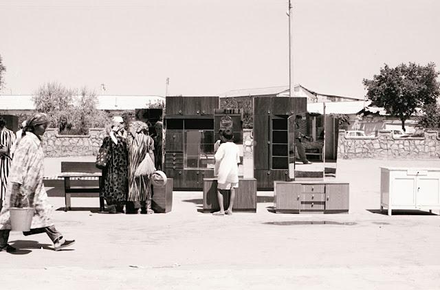 Ouzbékistan, Boukhara, marché, © Louis Gigout, 1999