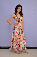 Actress Richa Panai Pos in Sleeveless Floral Long Dress at Rakshaka Batudu Movie Pre Release Function  0004.JPG