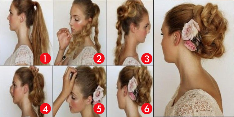 Fabulous Simple French Messy Braided Bun Hairstyle Tutorial Step By Step Short Hairstyles For Black Women Fulllsitofus