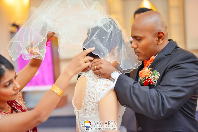 Wedding Photography in Penang Trinity Methodist Church