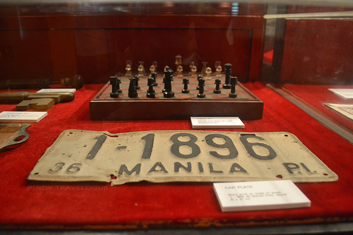Aguinaldo's personal belongings