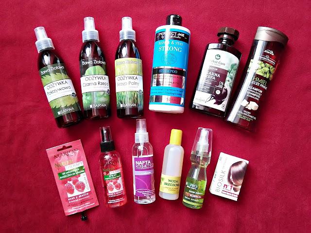 haul kosmetyczny, wizaż24, kosmetyki do pielęgnacji włosów