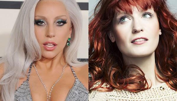 """""""Hey Girl"""": Ouça agora a parceria de Lady Gaga e Florence Welch para o álbum """"Joanne"""""""