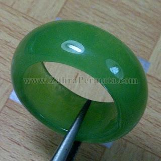 Cincin Batu Giok Jadeite Jade - ZP 832