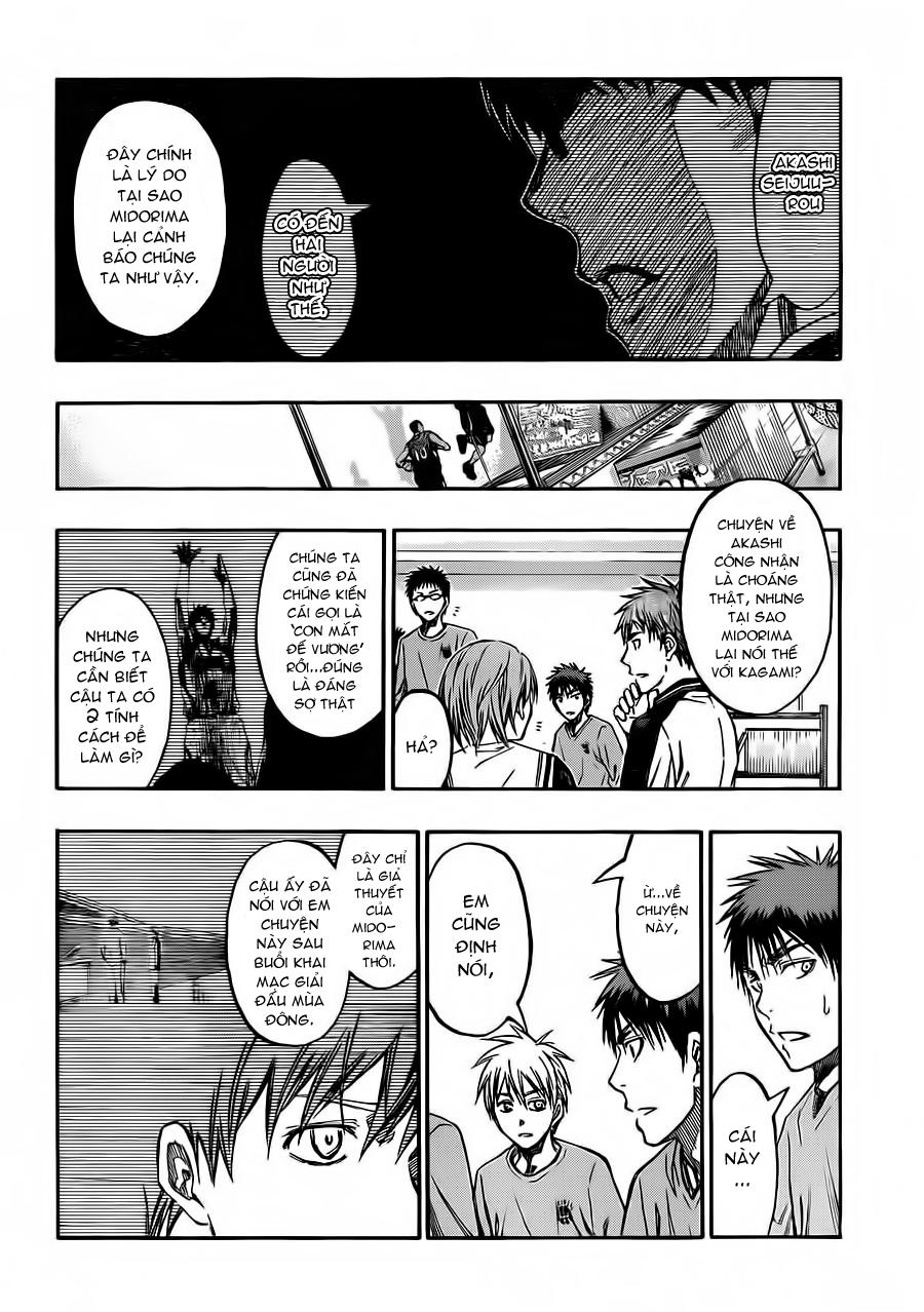 Kuroko No Basket chap 228 trang 12