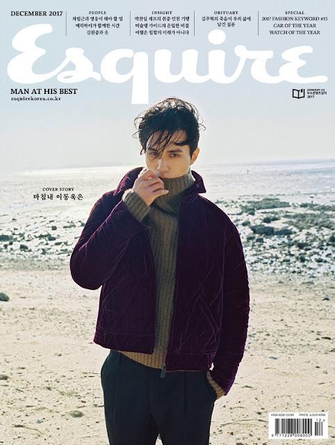 李棟旭登上<Esquire Korea>12月封面 即將三度來台