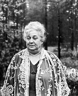 Анна Андреевна Ахматова в Комарово