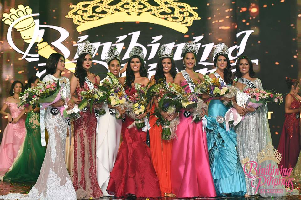 LIST OF WINNERS: Bb Pilipinas 2017 Coronation Night