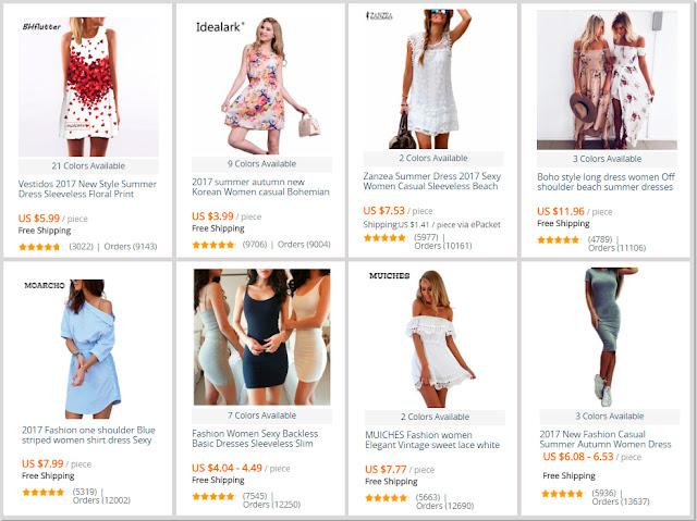 Summer Dresses AliExpress Shop Online On Sale