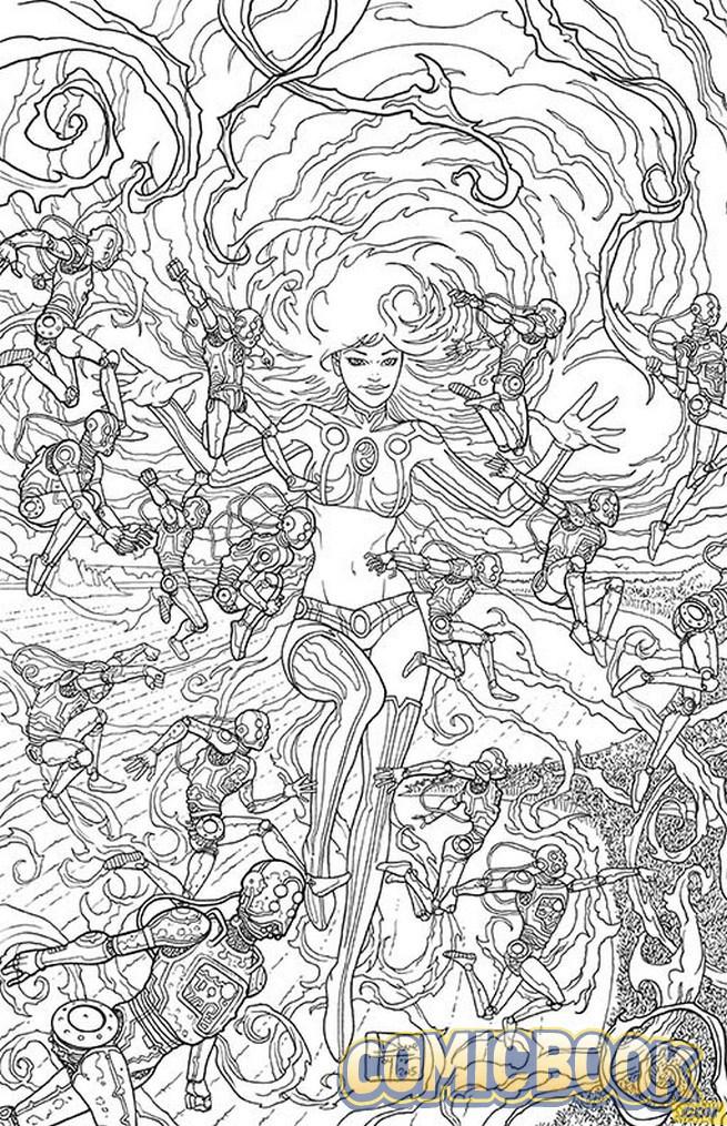 El universo de DC Comics: [Noticia] Primeras portadas para colorear ...
