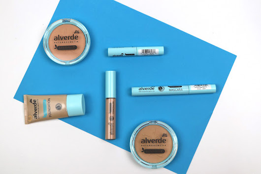alverde Sensitive Make-up Serie