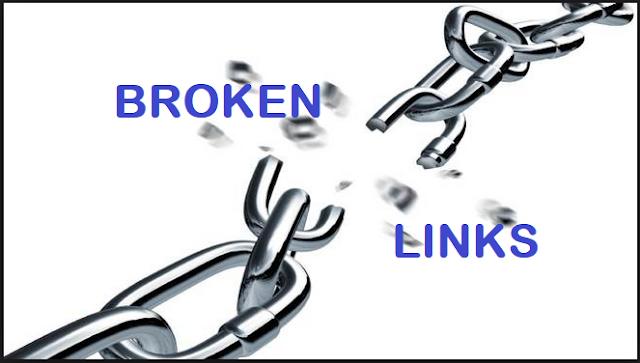 Begini Cara Mengetahui Link Rusak (Broken Links) Dan Memperbaikinya