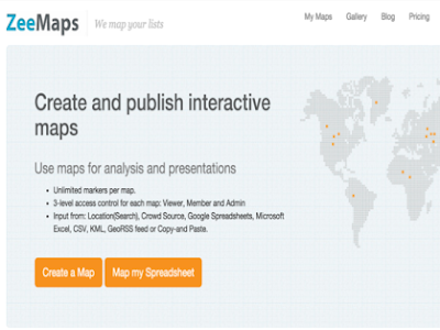 Use Zeemaps with Your Students to Create Interactive Maps