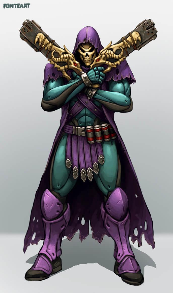 Skeletor Reaper by FonteArt