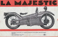 The Majestic Motorcycle Art Deco Odd Bike