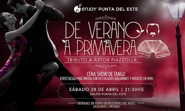 Enjoy Punta del Este se despide del Mes del Tango con un imperdible tributo a Astor Piazzolla