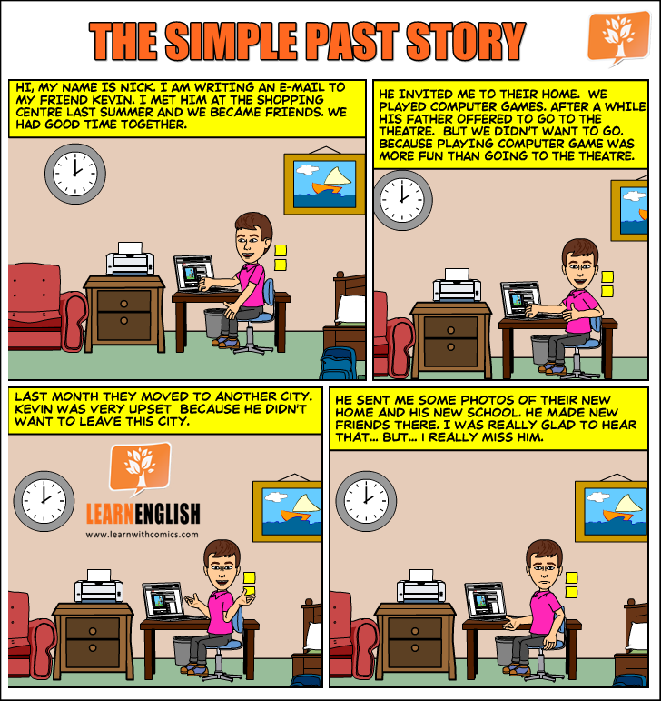 Questions in present and past simple tense