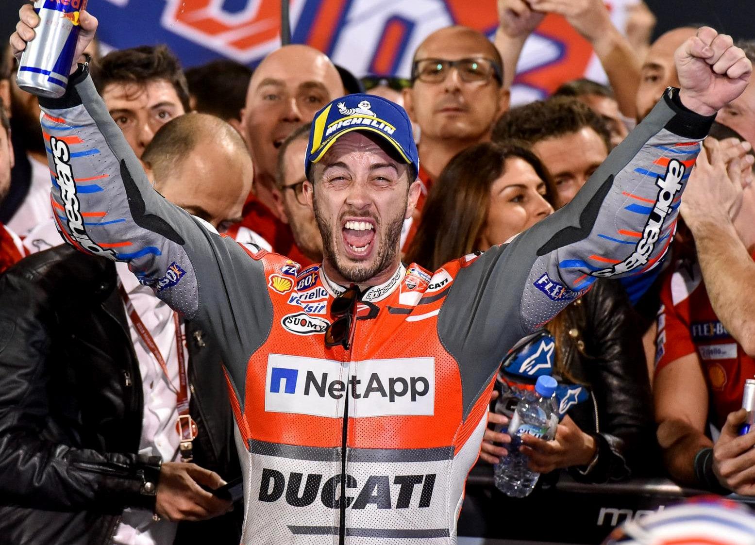 MotoGP : Kejayaan tim Pabrikan Ducati akan kembali di tangan Dovizioso ?