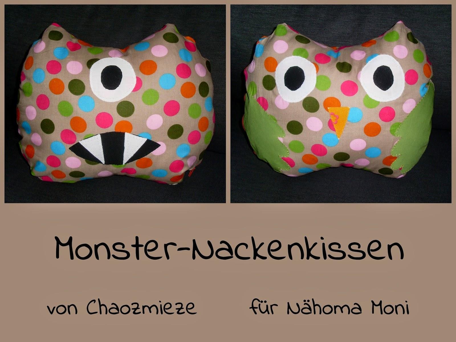 http://chaozmieze.blogspot.de/2014/11/rums-monster-nackenkissen.html