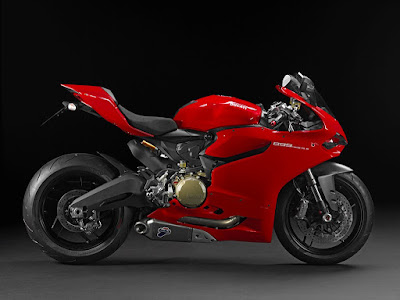 Ducati 899 Panigale Red Edition side image