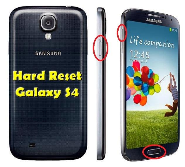 Hard Reset Samsung I9500