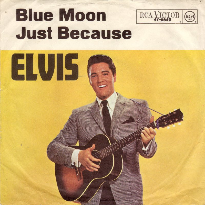 Elvis Presley Blue Moon Guitar Chords Lyrics Kunci Gitar