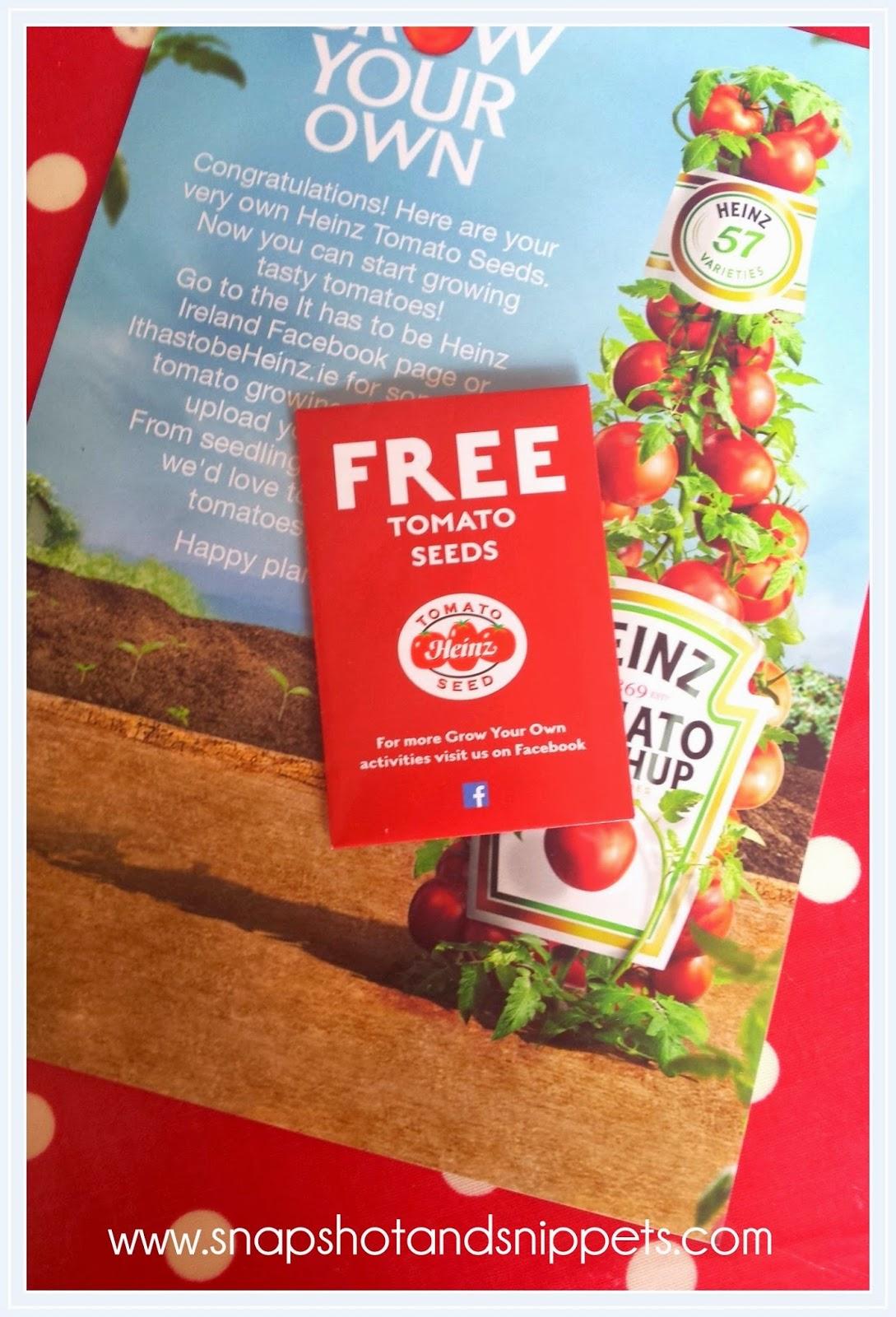 Free Heinz Seeds