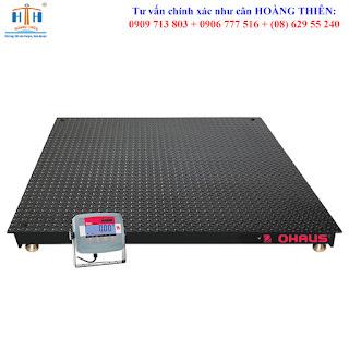Loại cân sàn điện tử 5 tấn 15 tấn ohaus