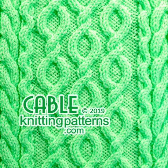 Cable Knits. Knitting Stitch Patterns.