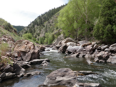 Tenkara on the Fly: A few hours in Waterton Canyon