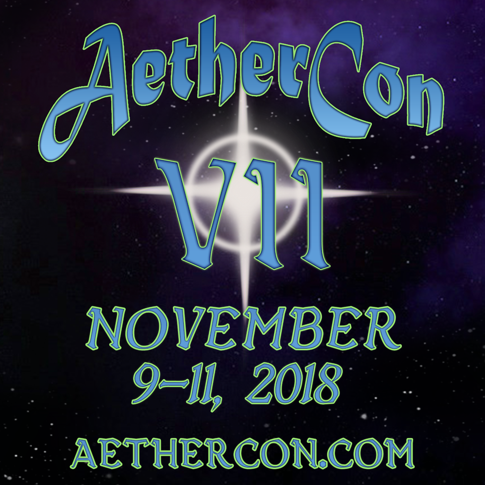 AetherCon VII - Go Check It Out!