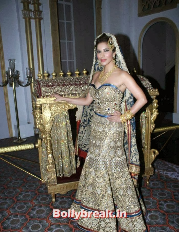 Sophie Choudry, Hot Celebs at India Bridal Fashion Week 2013
