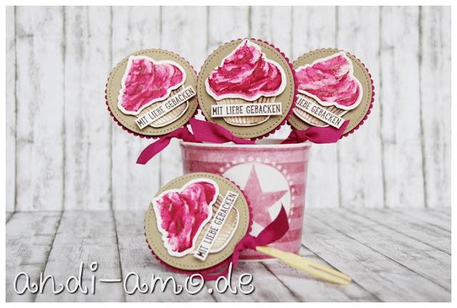 Stampin Up Cupcake für dich