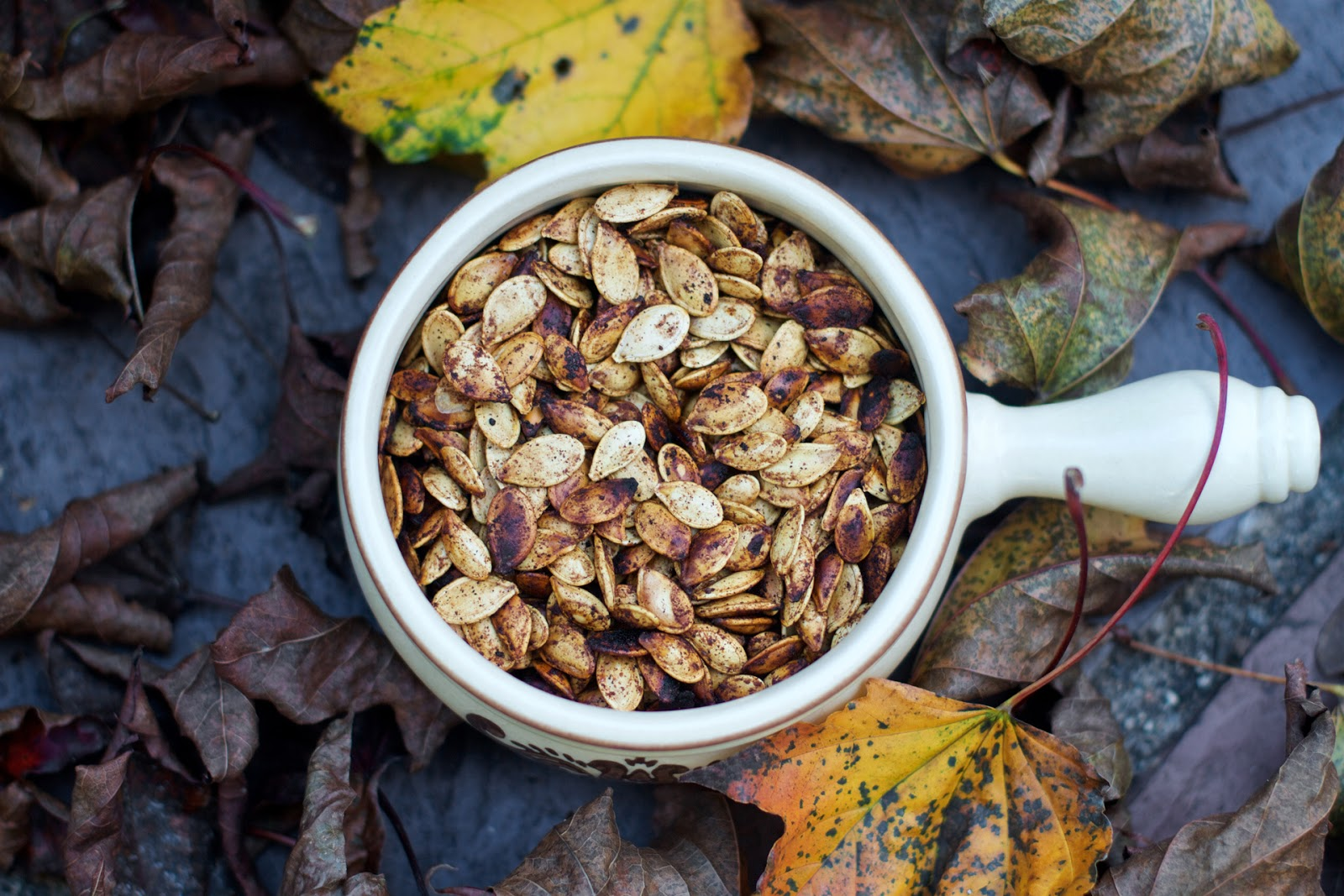 Local Food Rocks: Spiced Pumpkin Seeds