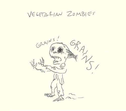 vegetarian zombies