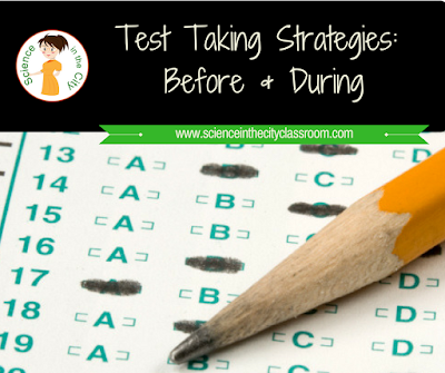 Strategies to use before and during testing to help your students be more successful