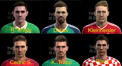 PES 2013 International Facepack by Pablobyk