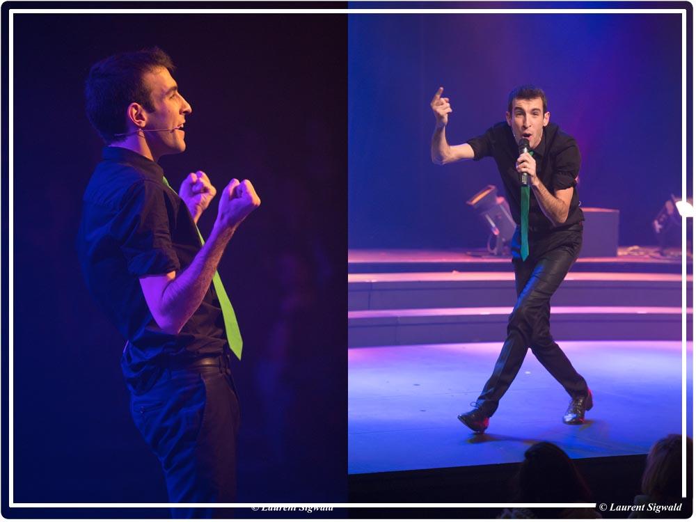 show instructif et humoristique L'encyclo spectacle de Max Bird
