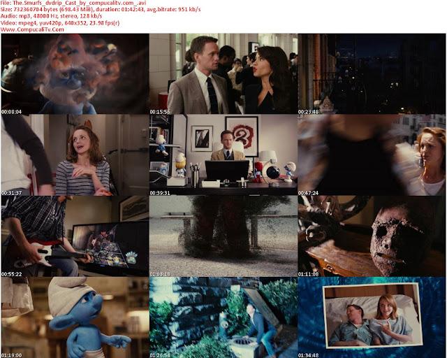 Los Pitufos [The Smurfs] 2011 [DVDRip] Castellano Descargar [1 Link] Ver Online