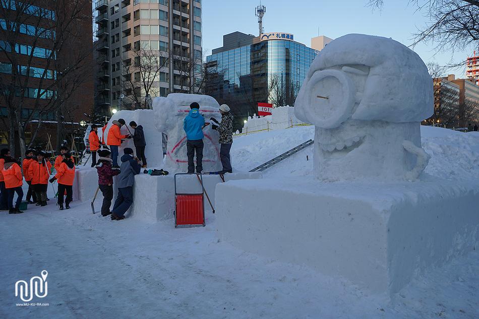 เที่ยว Sapporo 1 วัน : สวนโอโดริ Odori Park
